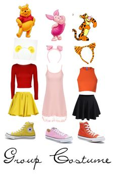 Designer Clothes, Shoes & Bags for Women Disney Bound Outfits Casual, Cute Disney Outfits, Disney Themed Outfits, Disney Dresses, Teen Fashion Outfits, Cute Group Halloween Costumes, Cute Costumes, Halloween Kostüm, Halloween Outfits
