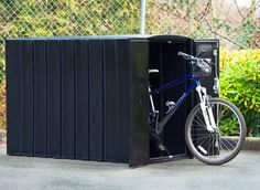 Reliance Foundry bike lockers provide secure storage for cyclists on-the-go | Inhabitat - Sustainable Design Innovation, Eco Architecture, Green Building
