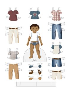 Paper Doll School: Fashion Friday - Independence Day JOHN