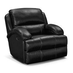 #vcf #valuecityfurniture  Nolan II Leather Glider Recliner - Value City Furniture