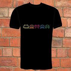 Camiseta de invasores del espacio