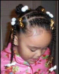 little black girls with short hair braid styles