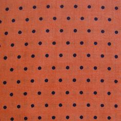 Halloween Spooky Prints Fabric-Black Dot on Orange at Joann.com