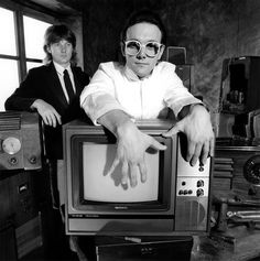 The Buggles (George Downes and Trevor Horn).