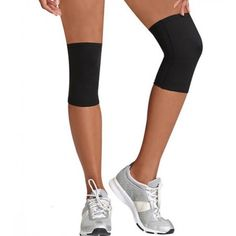 8c58173eaa Knee Sleeve Support Lightweight Elasticated Compression Bandage for Joint  Pain & Sprains, Black Arthritis