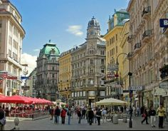 #Vienna shopping district. #Fall2014