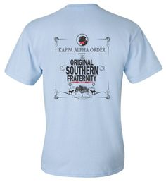 Kappa Alpha Order t shirt chair | KA | Pinterest | Fraternity ...