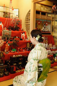 Hina matsuri or Doll's festival is celebrated on  March 3rd, Girls' Day in Japan where people pray for the health and happiness of their girls. The dolls are dressed up as royal characters from the Heian period and arranged in 7 panels that is reminiscent of Mysore's bombe mane or doll house tradition during Dasara.