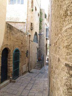 Alleys around Jaffa Port