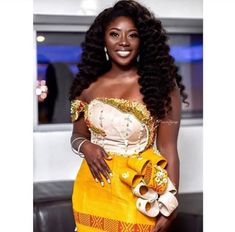 kente dress styles for traditional wedding
