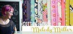 Cotton + Steel Collection: Mustang by Melody Miller - Fat Quarter Shop's Jolly Jabber
