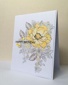 ღ Card Making Inspiration, Making Ideas, Beautiful Handmade Cards, Altenew Beautiful Day Cards, Altenew Cards, Miss You Cards, Watercolor Cards, Card Sketches, Sympathy Cards
