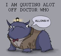 Hyperbole and a Half Doctor Who. Best. Combo. Ever.