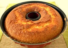 Ciambellone integrale allo yogurt