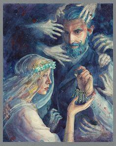 Blue Beard by CoalRye.deviantart.com on @DeviantArt
