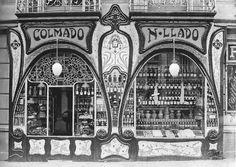 Art Nouveau Shop 1900 Architect, Jeroni Granell i Manresa Art