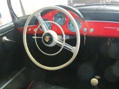 Porsche Speedster steering wheel