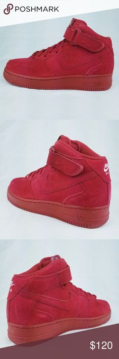 Nike Air Force 1 Mid  07 AF1 Gym Red October White You re buying c1bb8ea89