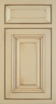 TALAN, Latte Paint With Brown Glaze, Weathered And Worn, Greenfield  Cabinetry · Door IdeasCabinet ...