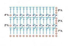 Patrón #1033: Punto Tupido a Crochet ~ CTejidas [Crochet y Dos Agujas]