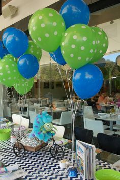 "Photo 1 of 24: Pixar's Monsters University / Birthday ""Monsters University Party""   Catch My Party"