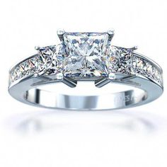 98b0c17481e50 Ladies Platinum Channel-Set Diamond Engagement Ring One of our most sought  after ring designs. This ring has an amazing amount of sparkle