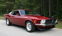 1970 Ford Mustang Fastback 351W