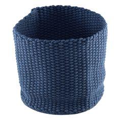 MILDA, Kudottu 37x37x37cm, sininen 22 euroa