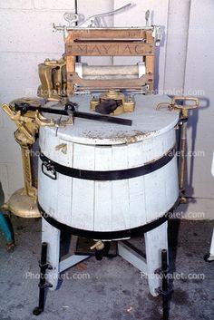 antique washing machine   Antique / Vintage Laundry Items shared ...