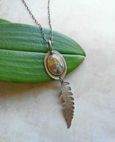 Mountain Meadow Necklace  Sterling Silver & by LaFreeBoheme, $238.00