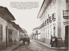 1862 - Rua São Bento, centro de São Paulo. Foto de Militão Augusto de Azevedo.