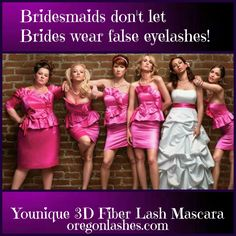 Don't be that girl! #3dmascara #magicmascara #younique #oregonlashes #miraclemakeup #mineralmakeup #allnatural #amazing #waterresistant #hypoallergenic #removeseasily #yougottaseeittobelieveit #mascara #miracle #extremeresults #bride #bridesmaid #gift