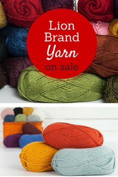 Whether you're knitting yarn for a scarf, sweater or any other knitting project -- Lion Brand yarn always does the trick! Shop Craftsy's selection of beautiful, high-quality Lion Brand yarn and be on your way to better knitting projects! Visit Craftsy's site today to get the latest deals on this beloved brand!