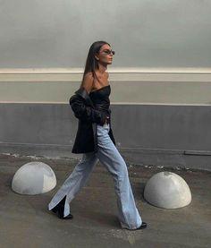 Fashion Mode, Look Fashion, Autumn Fashion, Fashion Trends, Fashion Fashion, High Fashion, Mode Outfits, Trendy Outfits, Fashion Outfits