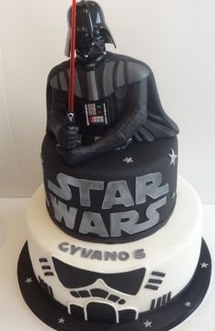 Elegant Image of Darth Vader Birthday Cake . Darth Vader Birthday Cake Star Wars Cake For Gyvano Darth Vader Birthda Star Wars Party, Star Wars Birthday Cake, Birthday Cake For Him, Cool Birthday Cakes, Birthday Cake Toppers, Birthday Cupcakes, Birthday Nails, Birthday Ideas, Aniversario Star Wars