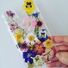 Pressed Wild Flower phone case