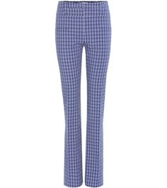 Altuzarra Serge Plaid Trousers For Spring-Summer 2017
