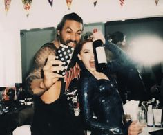 Jason Momoa & Amber Heard Celebrate Wrapping 'Aquaman' Filming has officially wrapped on the upcoming DC Extended Universe movie Aquaman and stars Jason Momoa and Amber Heard celebrated at a wrap party! Aquaman Film, Aquaman Dc Comics, Amber Heard, Satan, Anastasia, Amber Instagram, We Heart It, Jason Momoa Aquaman, Movies And Series