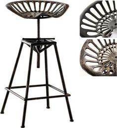 Sattel-Barhocker METO Industrial Look, Metall, klassisch & robust, höhenverstellbare Sitzhöhe ca. 70 - 90 cm Jetzt bestellen unter: https://moebel.ladendirekt.de/kueche-und-esszimmer/bar-moebel/barhocker/?uid=42470d56-5fde-5cdd-8f80-946e4203d568&utm_source=pinterest&utm_medium=pin&utm_campaign=boards #barhocker #kueche #stehtische #esszimmer #barmoebel