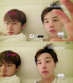B.I and Jinhwan