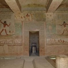 Tomb paintings at the Beni Hassan cemetery in Egypt depict a range of themes relating to the lives of the deceased, and reflect their sense…