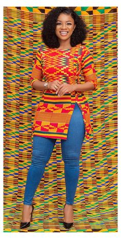 Short African Dresses, African Blouses, Latest African Fashion Dresses, African Print Dresses, African Print Fashion, Ankara Fashion, Africa Fashion, Ankara Tops Blouses, African Prints