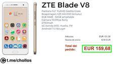 NUEVO ZTE Blade V8 3GB sólo 159 - http://ift.tt/2qoBFdv