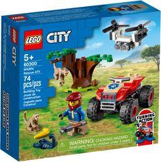 Quad, Lego Hospital, City Zoo, Lego City Sets, Lego News, Building Toys, Legos, Animal Rescue, Underwater