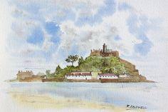 St Michael's Mount Cornwall  fine art print by RobertColdwellArt
