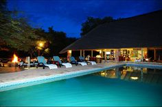 Dreamy nights at Timbavati Safari Lodge in the African Bushveld.