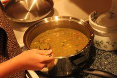 Salsa Verde Chicken Soup (E)