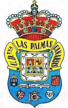 escudo de la U.D.LasPalmas, creado por Fernando Vergara de Leon, el año 1949.
