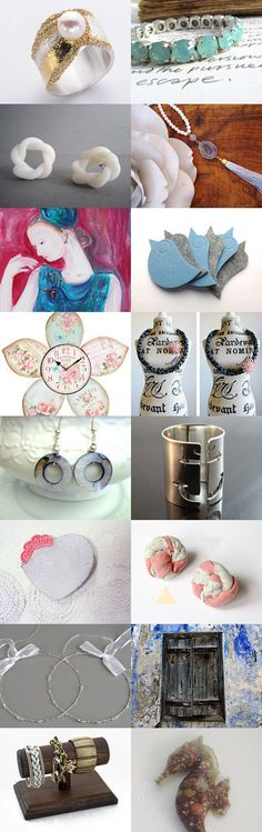 Hello Pretty Pastel May! by Theano Exadaktylou on Etsy--Pinned with TreasuryPin.com