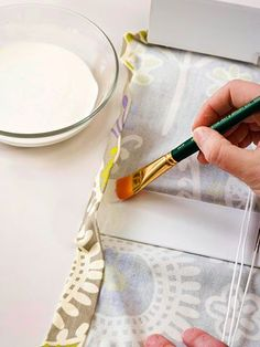 How to Make Roman Shades using old blinds